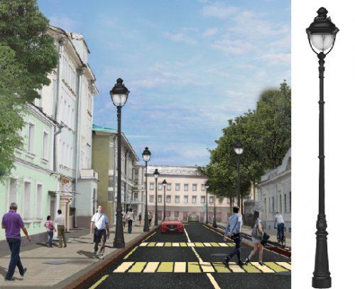 Московская городская программа благоустройства «Моя улица»