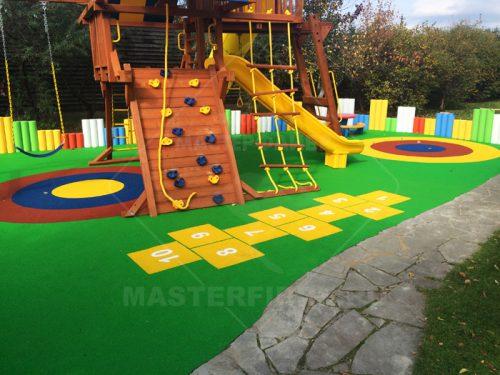 Покрытие для детских площадок