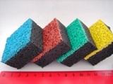Покрытия из цветной каучуковой крошки набирают популярность