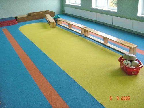 Спортивный зал в детском саде