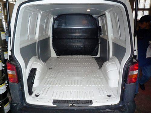 Багажник автомобиля – покрытие Эквестримат